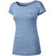 Salewa Puez Melange Dry Shortsleeve Shirt Women blue